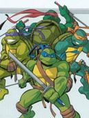 忍者神龟03版动画官方资料设定书漫画